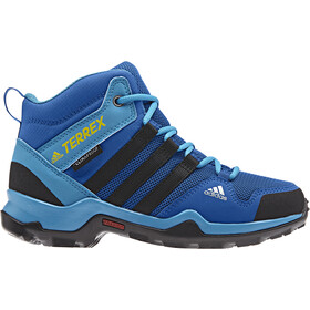 adidas TERREX AX2R Mid CP Chaussures Enfant, blue beauty/core black/shoyel